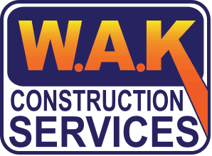 W.A.K. Construction Services Retina Logo